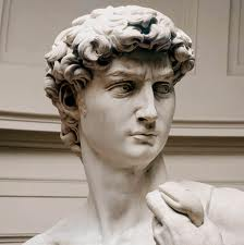 The Statue of David. You're allowed to look smug if you're made of marble.