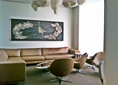 BoConcept Veneto chairs and the BoConcept Morani sofa in the Grace sitting lounge.