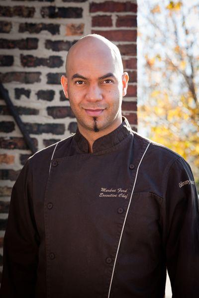 brown chef coat headshot