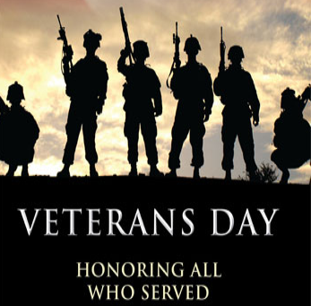 Happy Veterans Days!